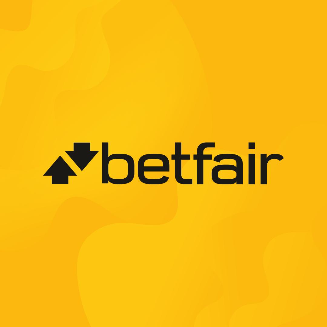 imagem contendo a marca da betfair, maior casa de trading esportivo do mundo
