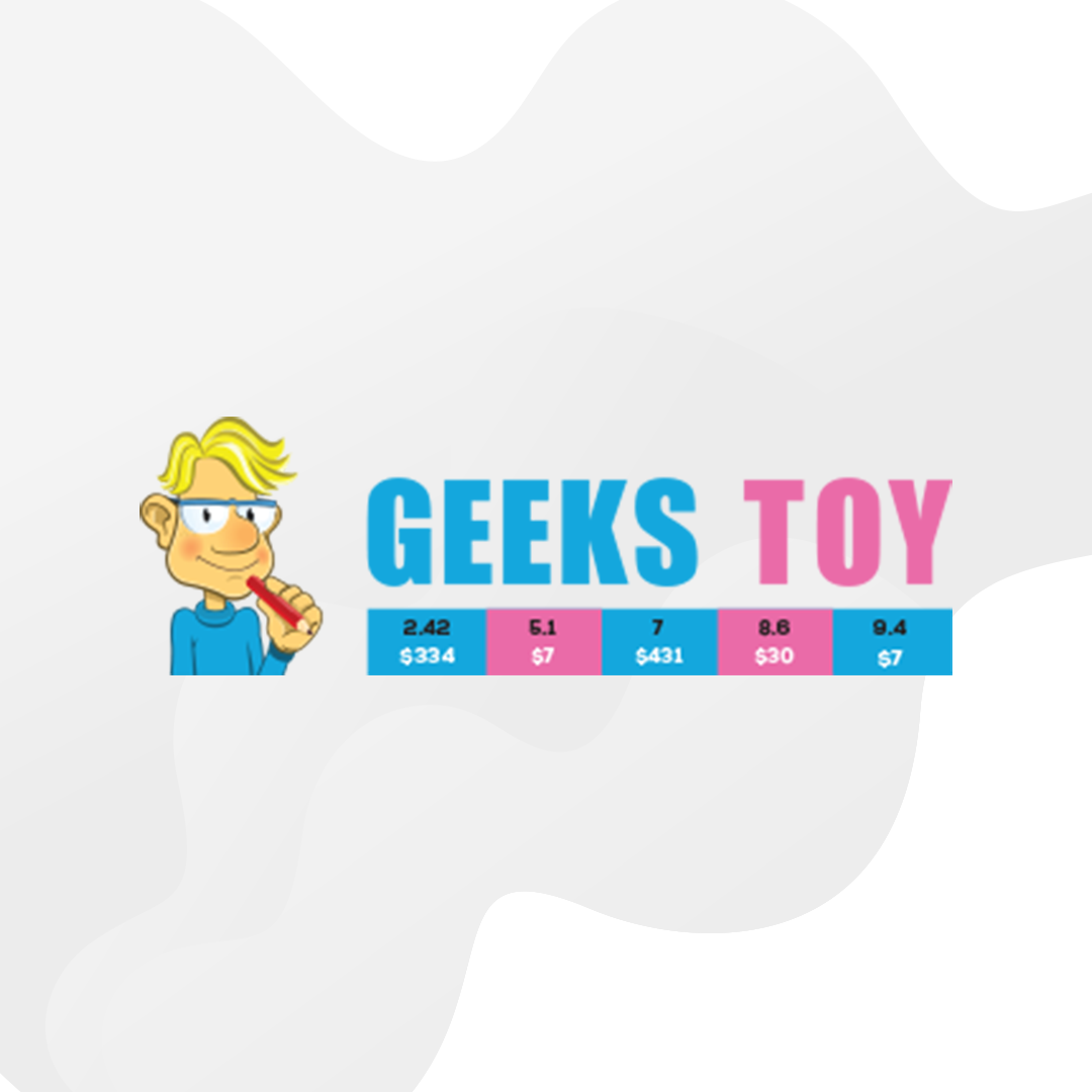 imagem contendo a marca do software geeks toy
